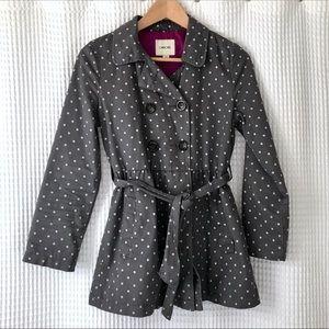 Polka Dot Trench coat L/G